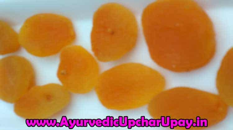 dried apricots benefits in hindi